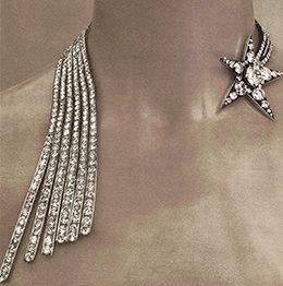 Necklace Comète Chanel jewelry diamonds