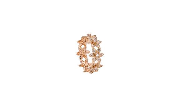 Misahara Eternal Blossom Ring rose gold