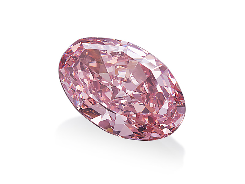 Pink Promise Diamond 14.93 carats Fancy Vivid Pink Diamond