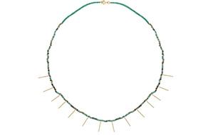 Rivka Nahmias Choker Turquoise gold