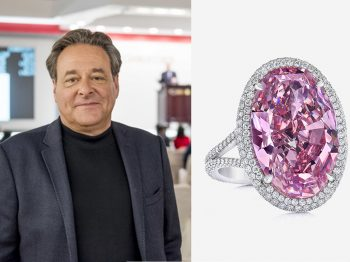 A talk with Stephen Silver, the man who sold the pink promise, the most expensive pink diamond ever sold at auction