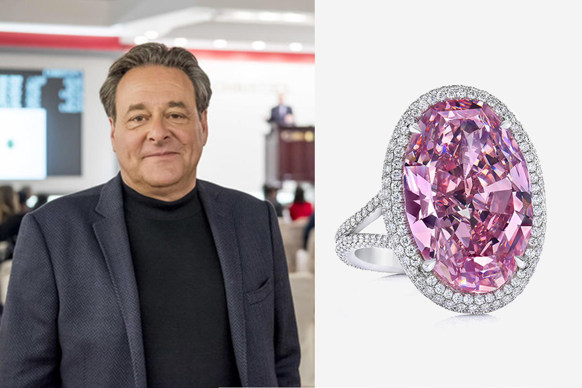 stephen silver the pink promise diamond ring