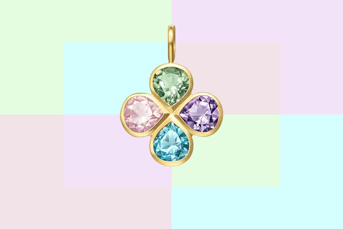 Tasaki by MHT Luck Clover pendant