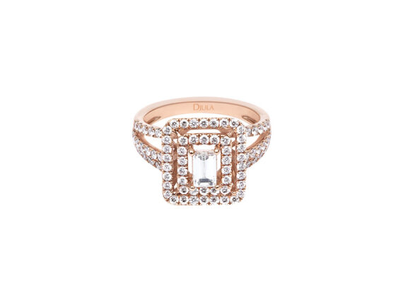 Djula IZÉE GOLD AND DIAMONDS RING