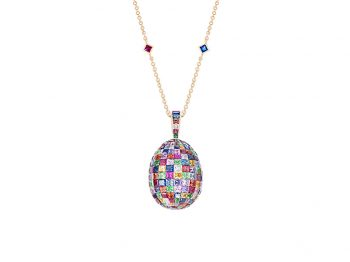 Mosaic Multi-coloured Pendant