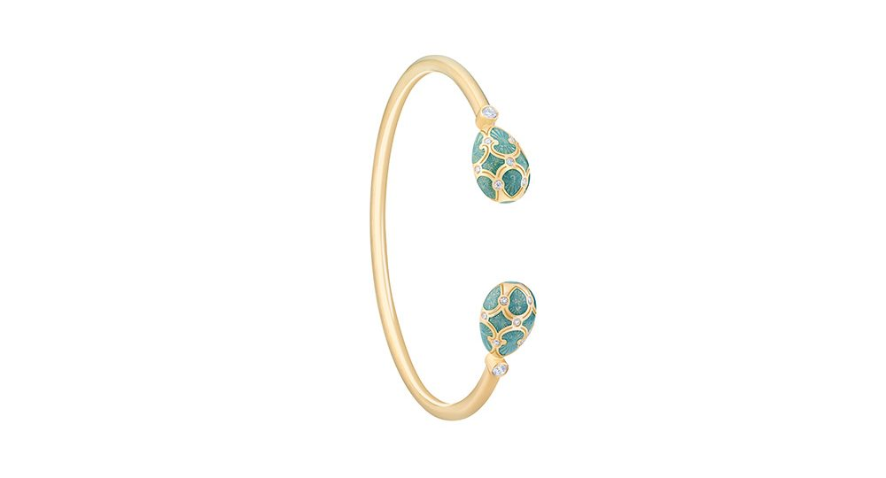 Palais Tsarskoye Selo Turquoise Open-set Bangle