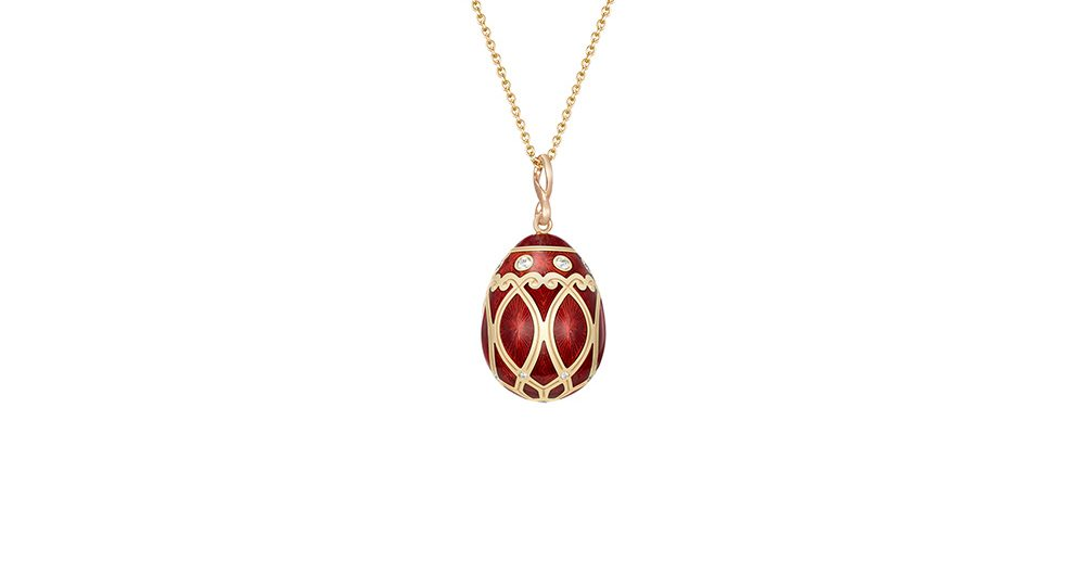 Palais Yelagin Red Pendant