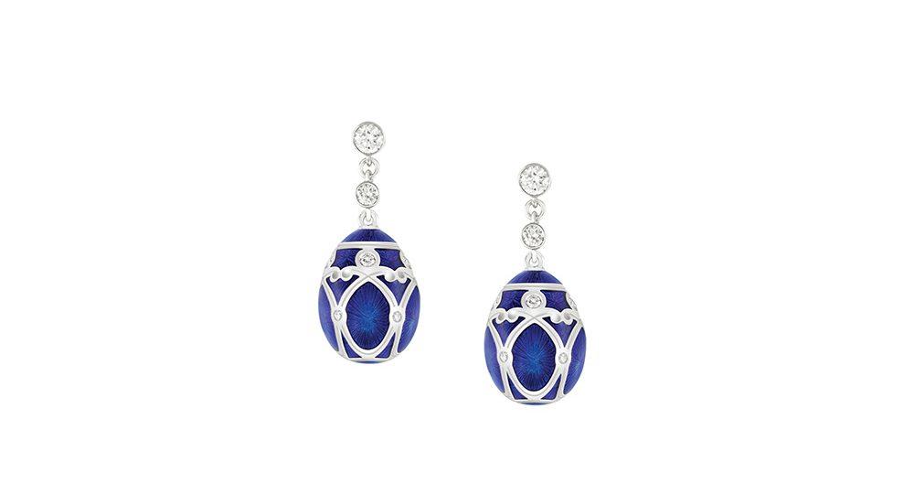 Palais Yelagin Royal Blue Earrings