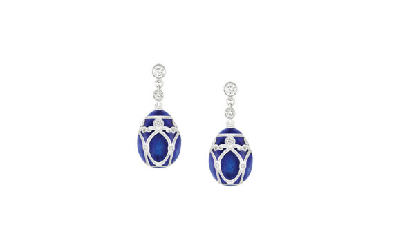 Palais Yelagin Royal Blue Earrings