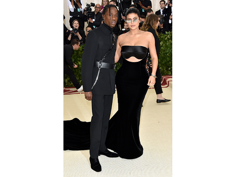 Kylie Jenner and Travis Scott Met Gala 2018 wearing Chopard Jewels