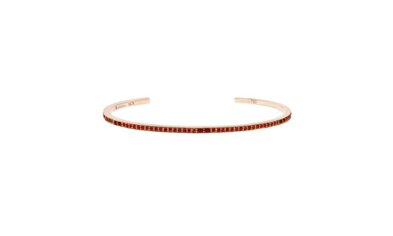 Laura Sayan Sireliss bangle or rose rubis