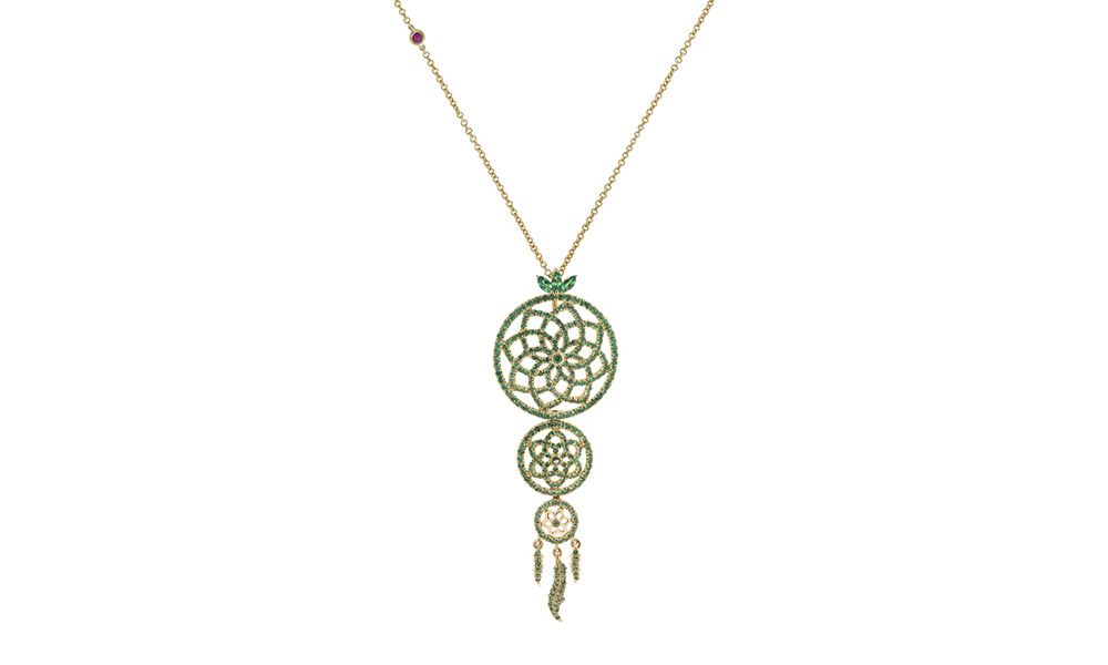 Collier Yeraz Dream Catcher