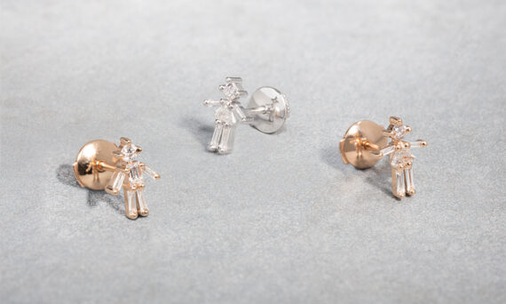 Little Ones Paris Stud earrings