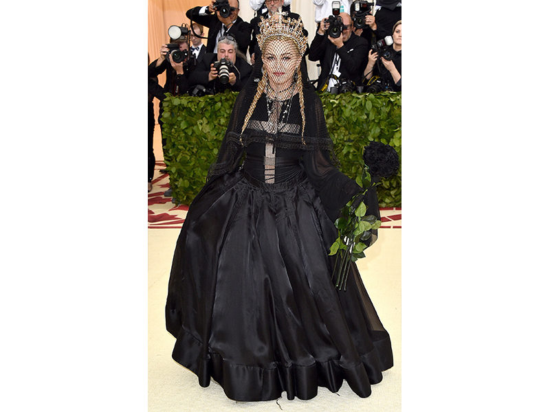 Madonna Met Gala 2018 Wearing Lana Jewelry and Narcisa Pheres Jewelry
