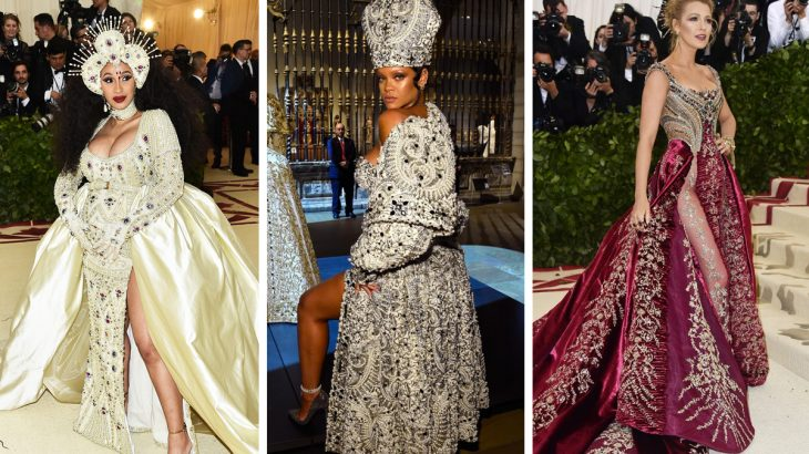 For heaven sake's of jewelry, find out who wore what at the 2018 Met…