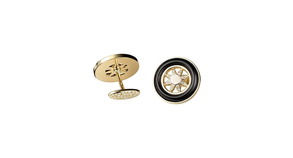 Spinning Wheels cufflinks