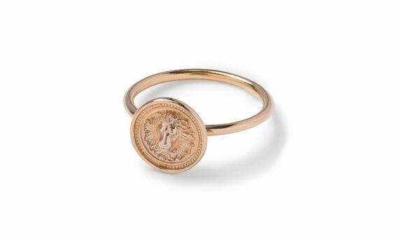 Nana Fink Loewenkind capsule ring n.2