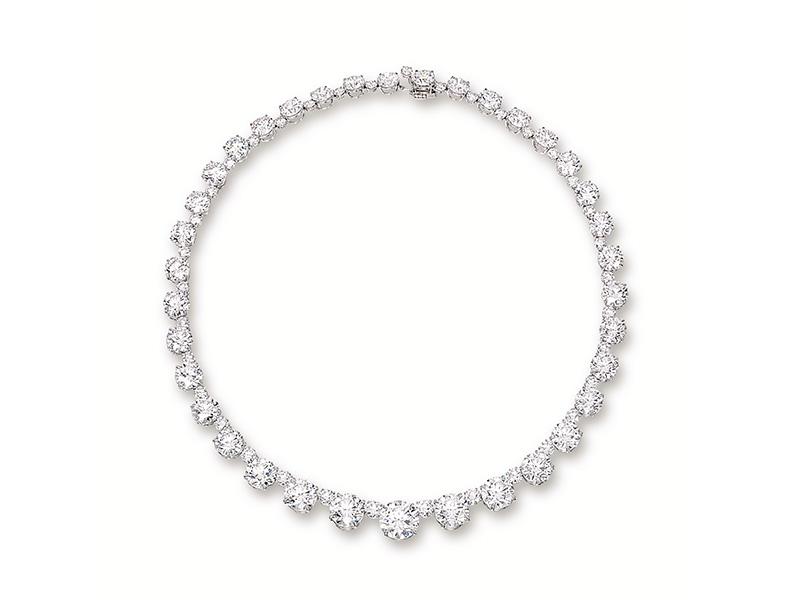 Nirav Modi - Riviera of Perfection necklace diamonds