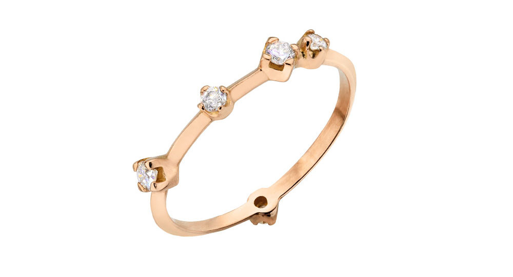 Diamonds Boheme ring