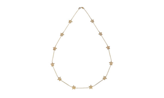 Spallanzani Jewelry Stella chain necklace gold