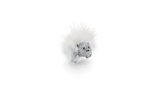 Stephanie Deydier Nanuq fur bear ring