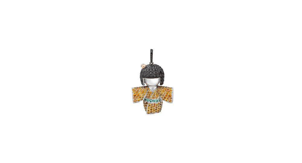 Yuki-onna pendant