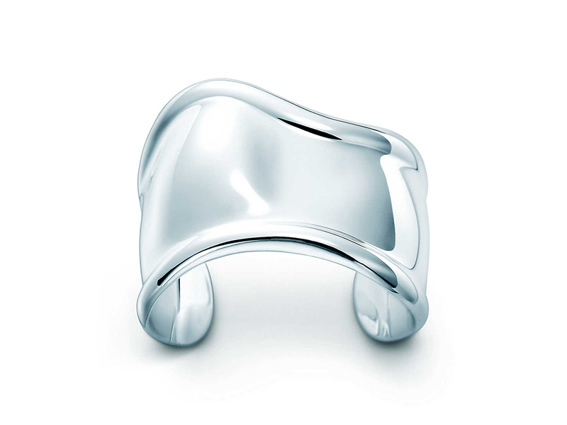 Tiffany & Co. Bone Cuff made in sterling silver by Elsa Peretti