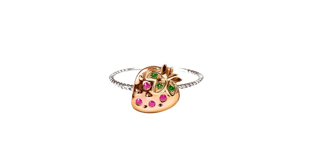 Bague Strawberry MINI MIO