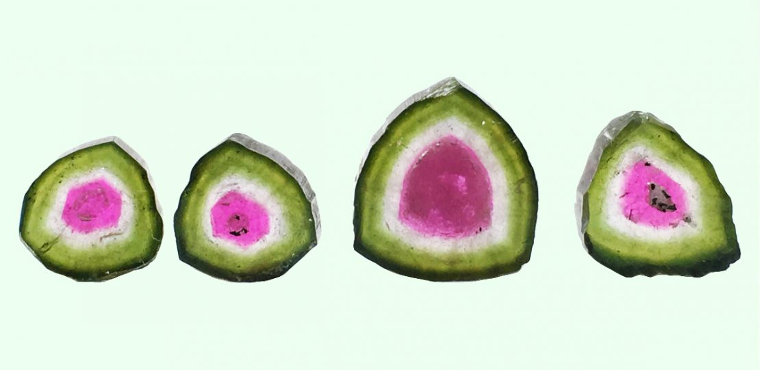 Watermelon Tourmaline: What makes the juicy watermelon Tourmaline look like a watermelon fruit?!