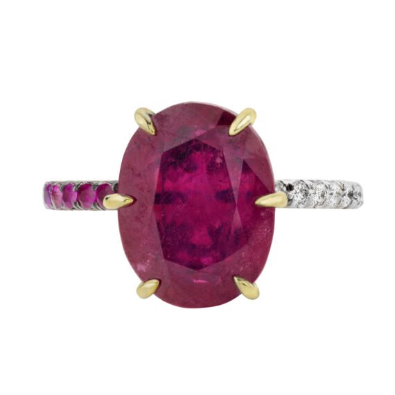 Ana Khouri Bea ring 9 cts of natural Burmese Ruby