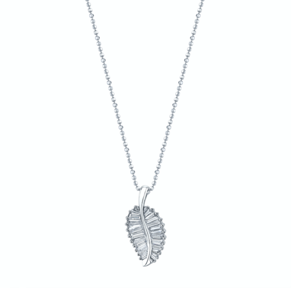 Anita Ko Palm leaf necklace