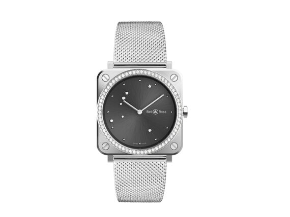 Bell & Ross BR S Grey Diamond Eagle diamonds