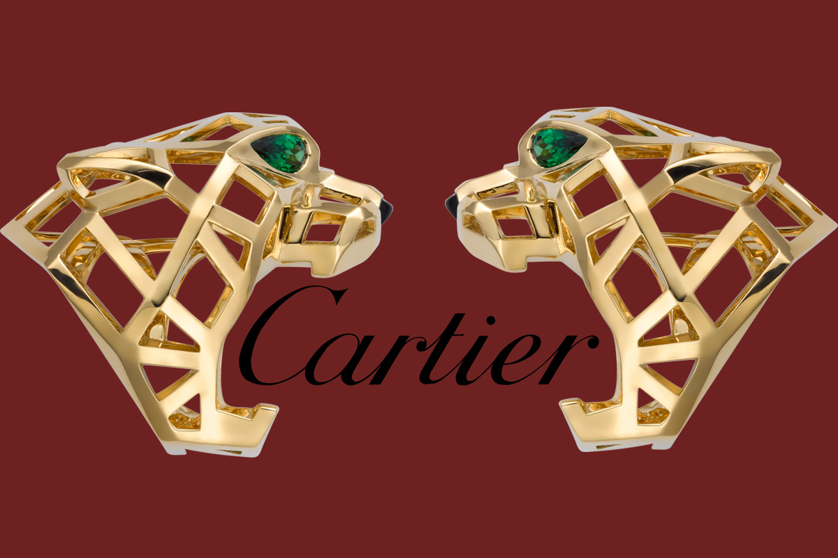 Two Panther ring de Cartier mounted on yellow gold and Cartier's logo. Cover for: can Cartier Rings be resized?