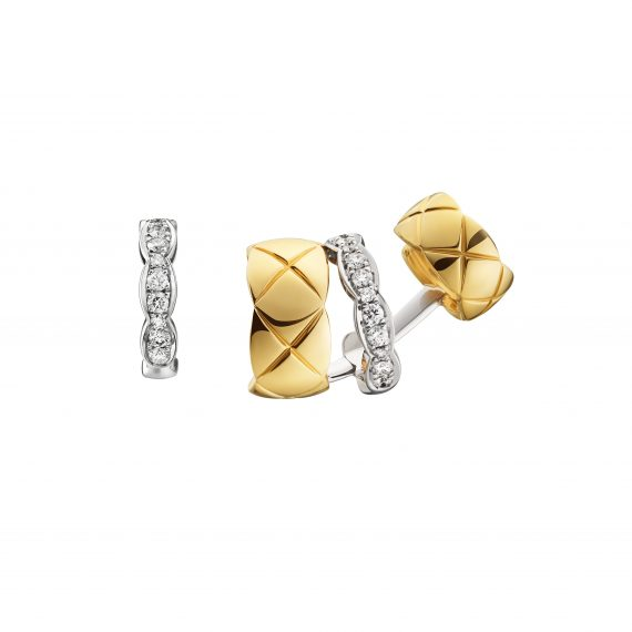 Chanel Coco Crush Asymetric earrings BO ASYMETRIQUE COCO CRUSH OB & DIAS