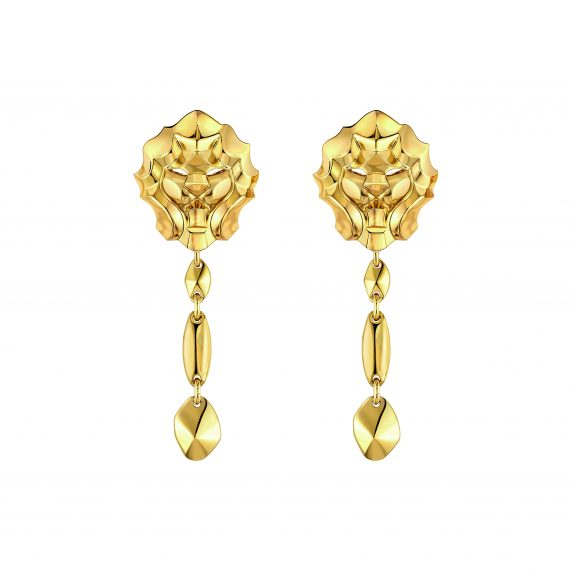 Chanel Lion d'Or earrings