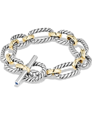 David Yurman Cushion Chain Link Bracelet