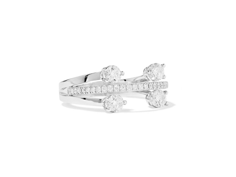 Delfina Delettrez - White gold ring set with diamonds