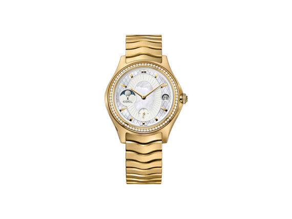 La Maison EBEL Edition Limitée on yellow gold set with diamonds