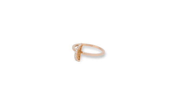 Eleuterio Dentelle gold filigree ring rose gold
