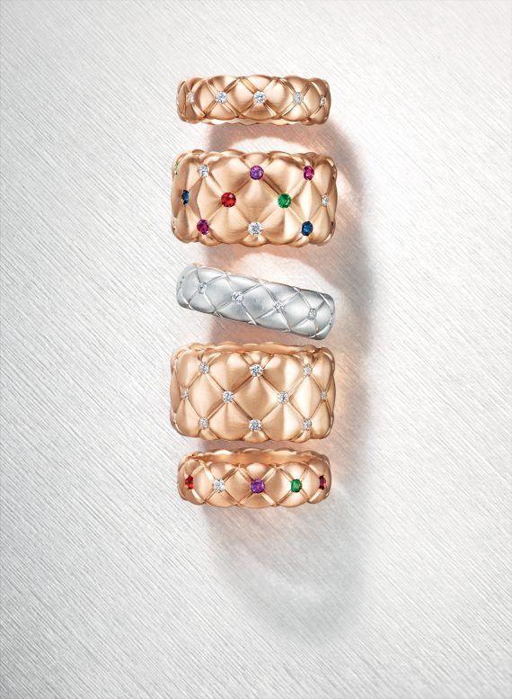 Faberge-Treillage-rings