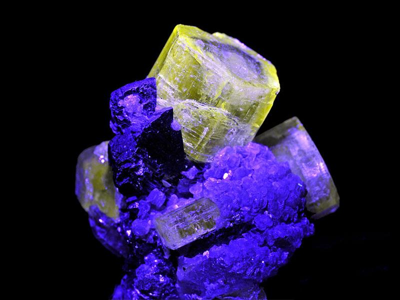 Fluorescent Apatite