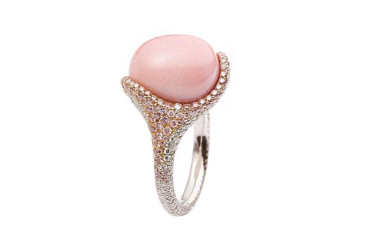 Mikimoto Conch Pearl Ring
