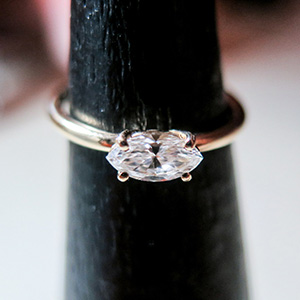 Rivka Nahmias Marquise Diamond Ring