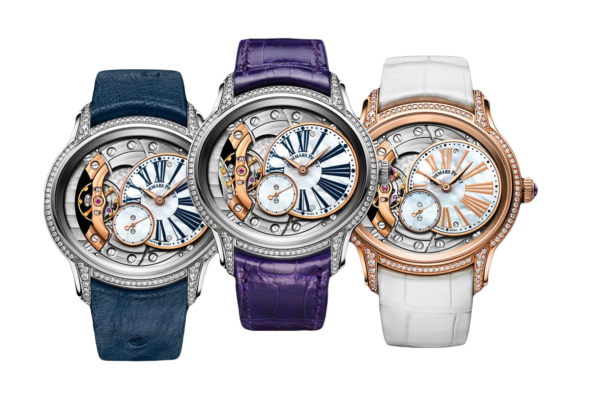 Audemars Piguet interchangeable straps watches