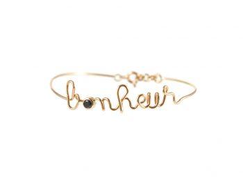 Bonheur rose gold bracelet