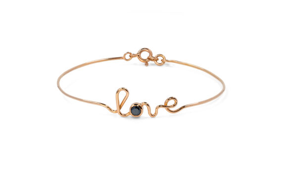 Love rose gold bracelet