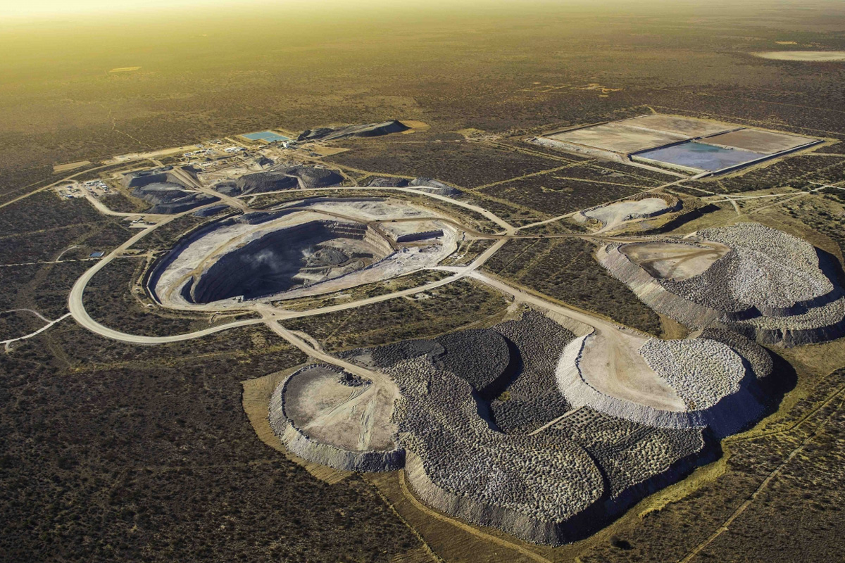 Chopard The Karowe mine in Botswana where The Queen of Kalahari was discovered