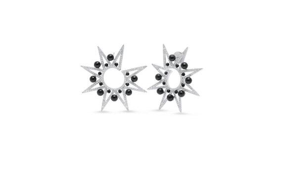 Alya Star Spike Earrings