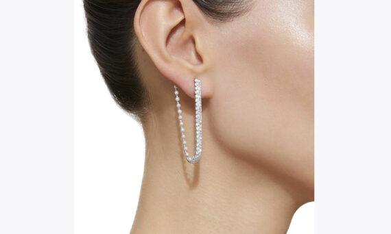 Colette Jewelry Amorous U Hoops