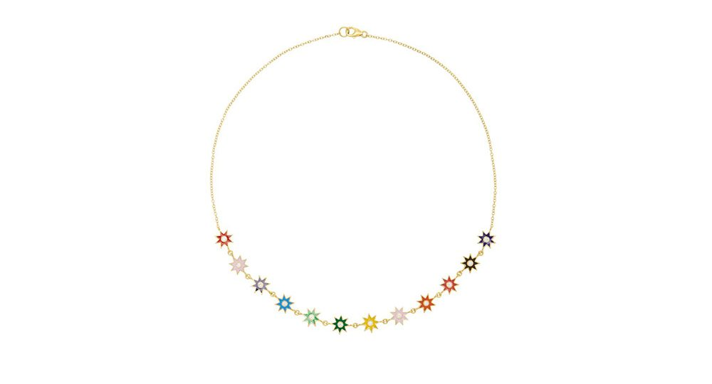 Collier Enamel multicolore